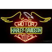 Motor Harley Davidson Cycles Neon Sign